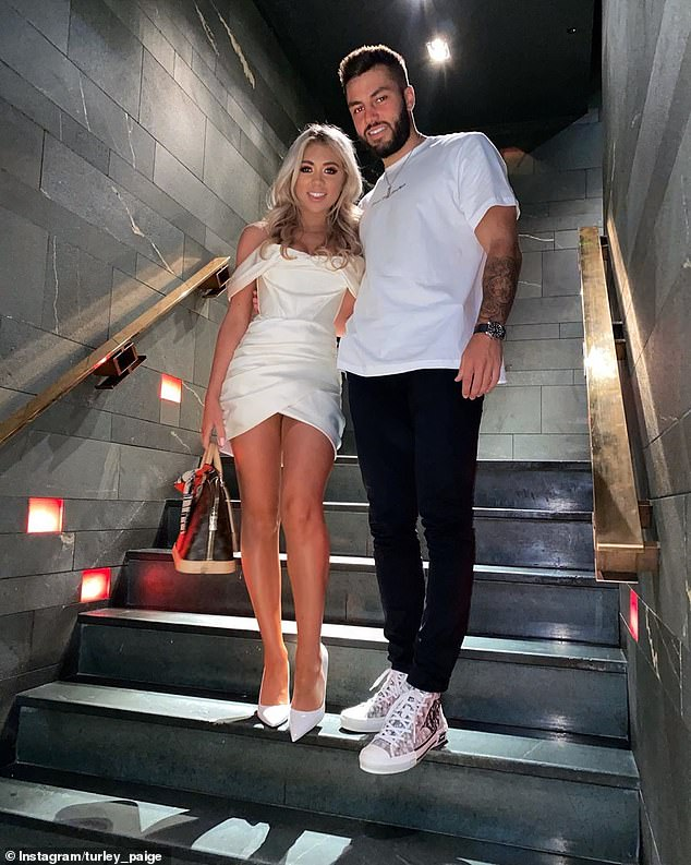 Love Islanders:Paige and Finn recently moved into their own flat in Manchester after winning the winter series of Love Island earlier this year and are still going strong