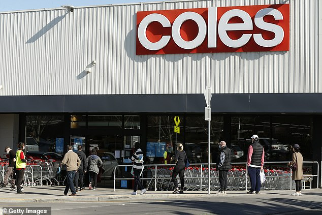 The impending tougher lockdown has prompted thousands to flock to Melbourne stores in a new wave of panic buying