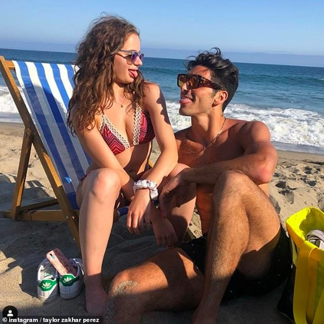 Just pals? The Kissing Booth stars sparked romance speculation after Taylor shared a gushing birthday post to Joey on Friday