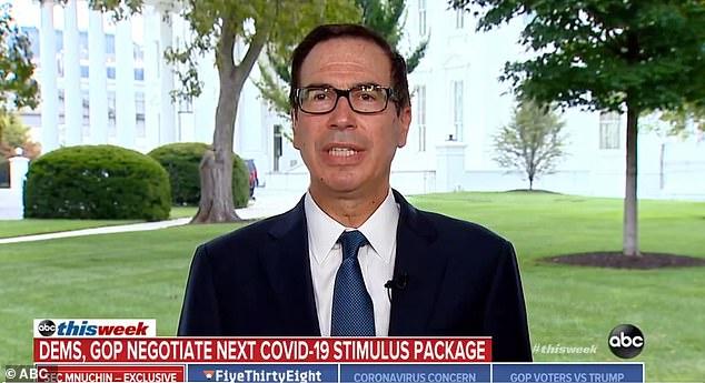 Treasury Secretary Steven Mnuchin said Republicans won't give into Democrats' urge for $1 trillion to state and local governments in the next coronavirus stimulus package