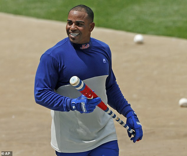Yoenis Cespedes was expected to show up at the ballpark on Sunday afternoon in Atlanta