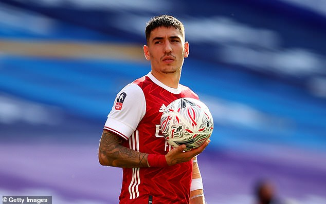 Right-back Hector Bellerin is another player who could leave the Emirates this summer