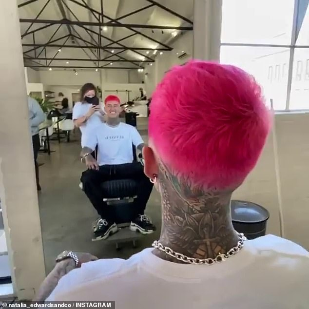 Happy chappy! While this 'revenge haircut' theory is certainly amusing, it appears to be false. Far from being unpopular at his local barbershop in Fitzroy, the business proudly shared photos to Instagram of Ciarran's fresh cut last week