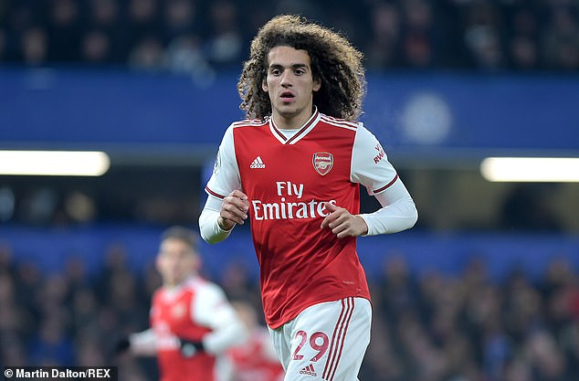 Guendouzi's days in north London seem numbered after being frozen by Arteta