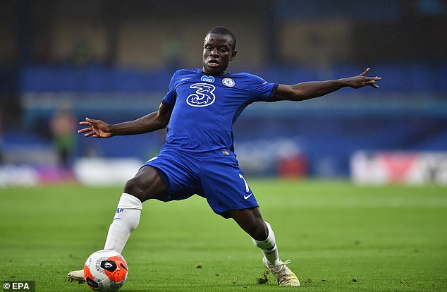 N'Golo Kante could also be set to leave as Chelsea seek to raise funds for new signings