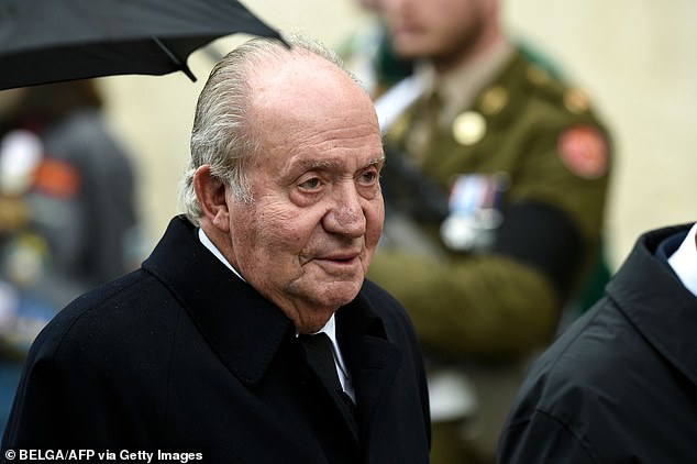 Former Spanish monarch King Juan Carlos I (pictured) says he's leaving Spain to live in another country amid financial scandal
