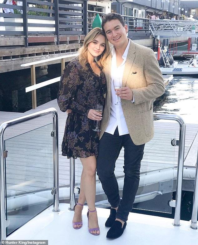 Soap star Hunter King calls off engagement to cameraman Nico Svoboda