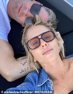 Out with the old, in with the new! How Michael Clarke's new girlfriend, Pip Edwards (pictured), has stepped right into his estranged wife Kyly's shoes after the pair's marriage breakdown