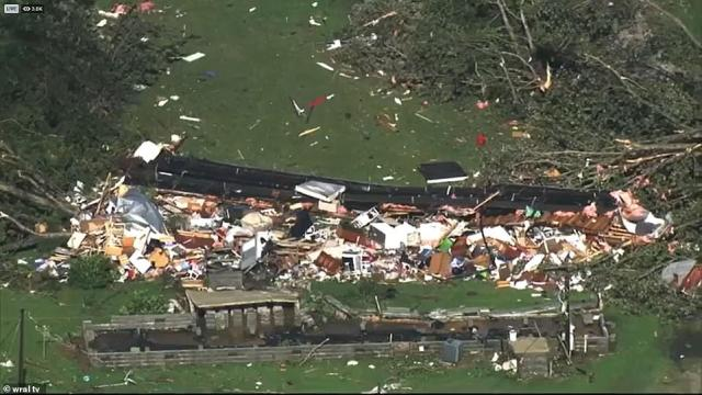 Local officials said that 20 people were taken to a local hospital and three are still missing after the tornado hit the mobile home park overnight