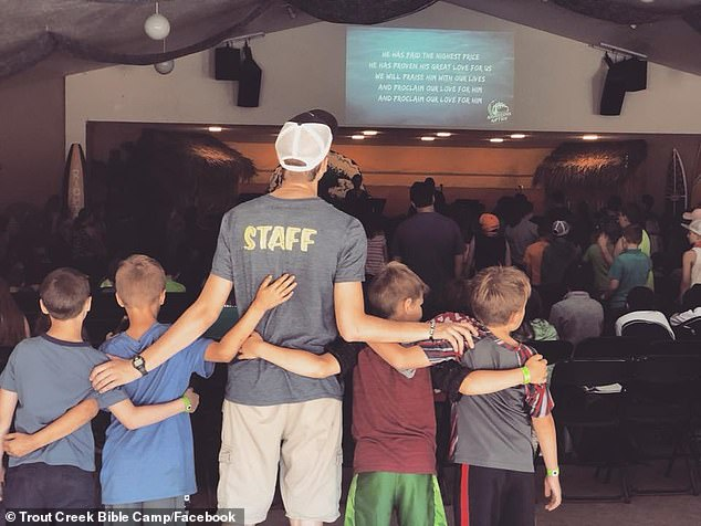 The virus was first detected July 18 at Trout Creek Bible Camp near Corbett when a staff member tested positive (a picture of the camp from their social media)