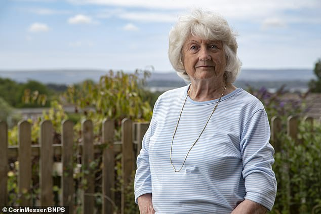 Victory: Anne Psaros, 79, received £ 11,600 after realizing the DWP failed to increase her pension to married woman's rate when her husband retired over a decade ago