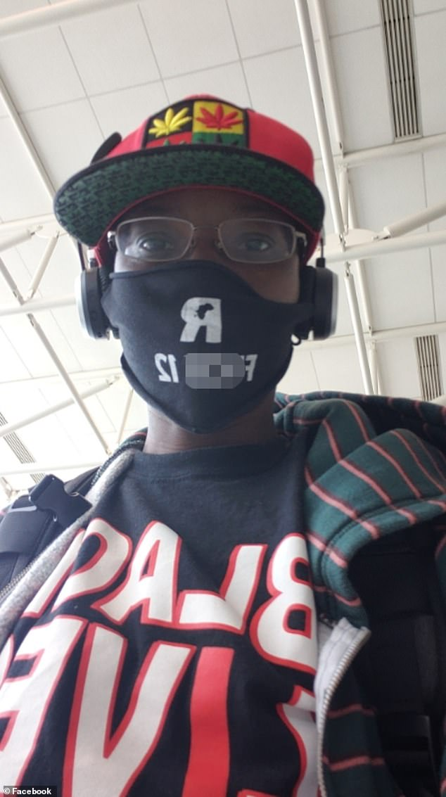 Arlinda Johns believes she was kicked off an American Airlines flight because she is black. She was wearing a mask that read, 'f*** 12', which is a reference to police, and a Black Lives Matter shirt