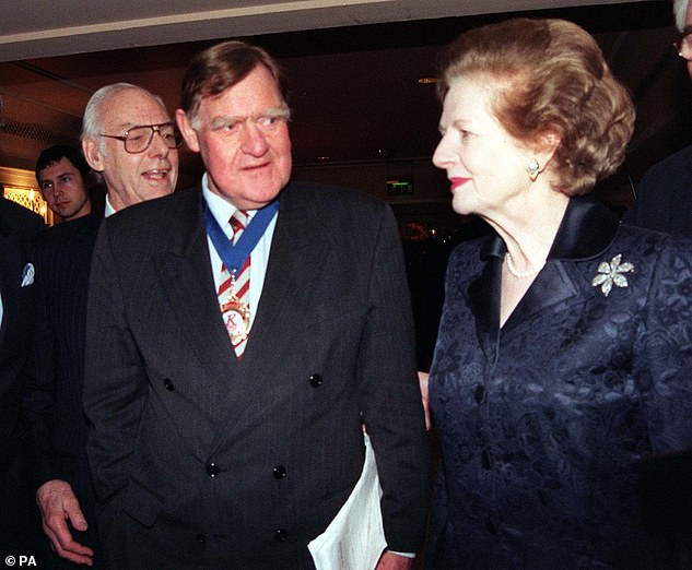 Sir Bernard (left), Mrs Thatcher's (right) Downing Street spokesman for most of her 11 years in office, claimed that Mr Johnson's plan to appoint a White House style spokesman to give daily briefings on live television was 'a constitutional outrage'