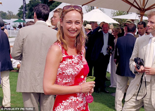 Clemmie Hambro last night told of her 'very lucky' escape after she was a guest on Jeffrey Epstein's 'Paedo island'
