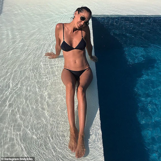 'A sense of empowerment for women over their own body': However, a Fig Femme spokesperson has rejected Nikki's assertions, telling Daily Mail Australia that the vulva masks are meant to 'empower' women. Pictured: Lindy Klim