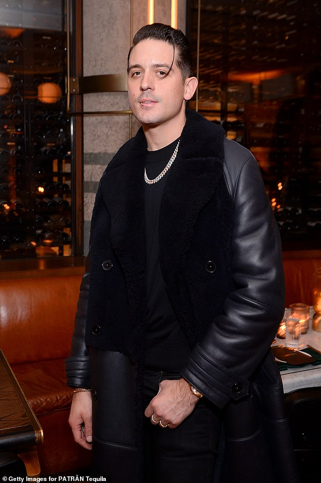 New squeeze: Benson was spotted with rapper, G-Eazy shortly after her split with Delevingne, and the actress has since confirmed their relationship in June