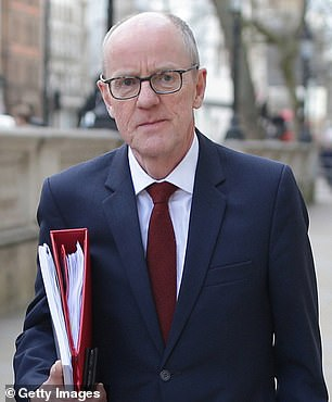 Schools Minister Nick Gibb (pictured) said ministers could not 'decree' that schools open.