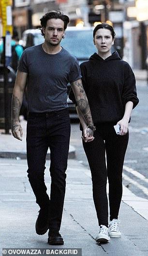 Smitten: Liam was holding Maya's hand firmly