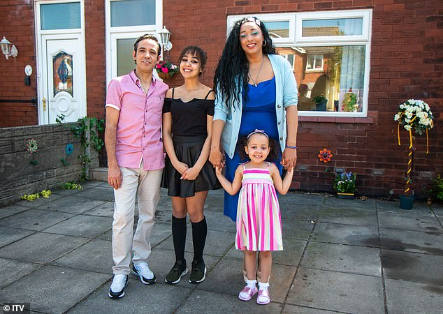 Sergio and Fatima Paiva live with their daughters Helena, 16, and Victoria, four, in Southport, and appear on ITV's Eat, Shop, Save tonight, completing a two month challenge to become healthier and more sensible with their money