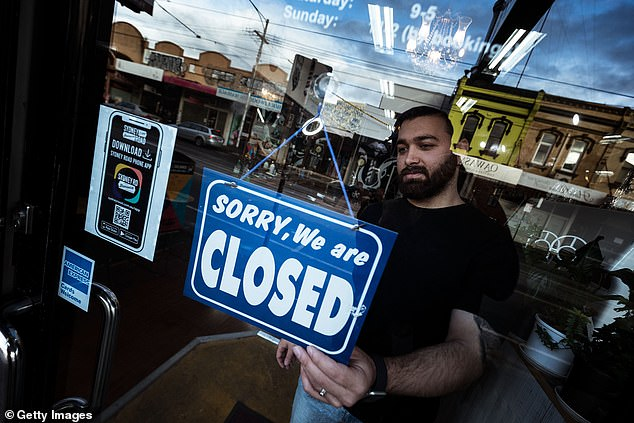 Mas Azemi of Mas Barber Shop was forced to shut up shop for six weeks on Wednesday afternoonin response to Victoria's ongoing COVID-19 outbreak