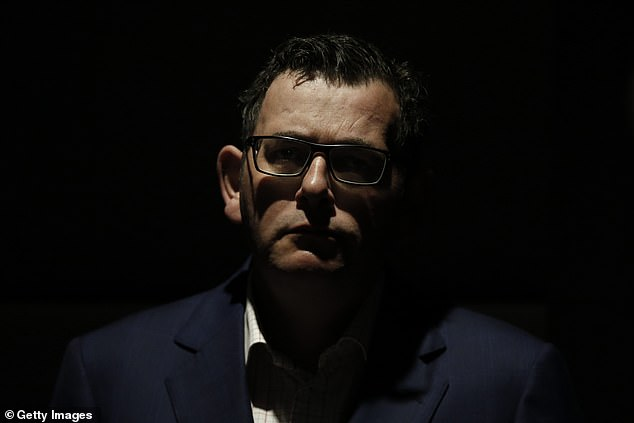 A grilling from journalists took a heavy toll on Victorian Premier Daniel Andrews on Thursday