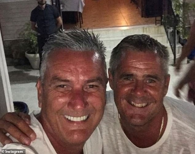 Together again! Gogglebox stalwart Lee Riley has shared a series of sweet snaps with his boyfriend of 26 years, as they lap up the sunshine in Cyprus