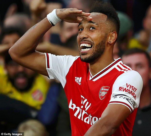 In same week Arsenal have cut jobs, Pierre-Emerick Aubameyang has been handed a new deal