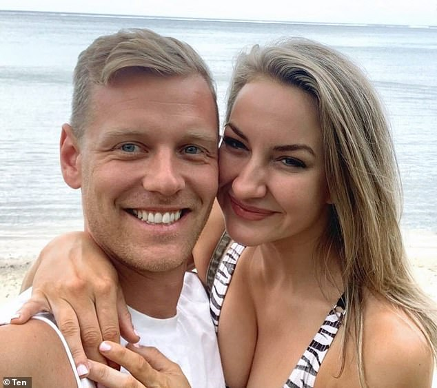 Together again! Despite the bump in the road, the podcast revealed that the couple made amends and are well and truly in love again