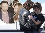 Actress Charlotte Best is spotted out in Sydney's Bondi with a mystery man