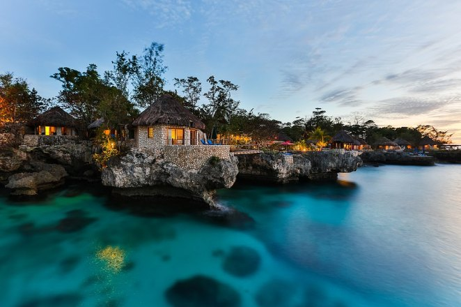 If you want to indulge a castaway fantasy - put the Rockhouse Hotel on your bucket list