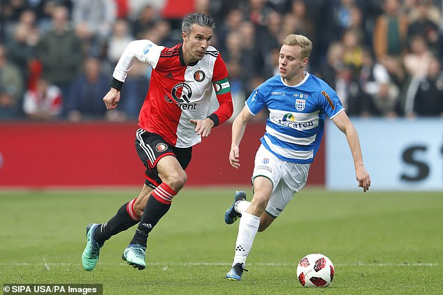Van Persie, 37, started his career with Feyenoord and re-joined in 2018 before his retirement