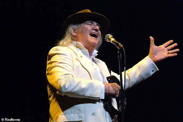 Way back when: Game Of Love singer Wayne Fontana has passed away aged 74 (pictured in 2008)