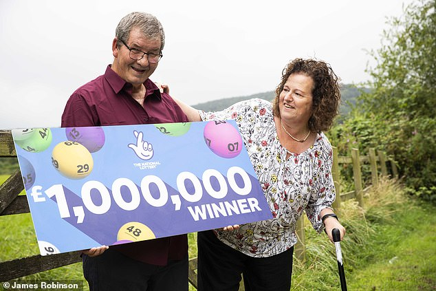 The couple are preparing to jet off first class to see friends and family in Canada, with some of their winnings also going on a new car
