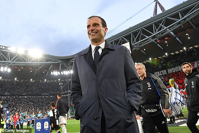 Massimiliano Allegri has been out of work since leaving the Serie A club just over a year ago