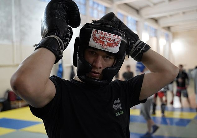 Khabib's 23-year-old cousin, Usman, is seen as a top talent and the next in line to the throne