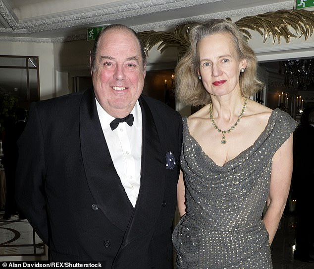 Nicholas Soames, left, has split from his wife of 27 years Serena, right. He said they are living separately