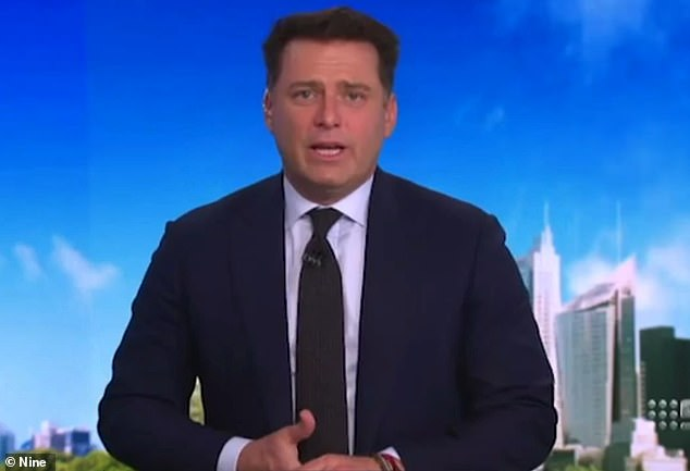 Unpopular: Network Nine have denied claims Today show host Karl Stefanovic (pictured) is 'unpopular' with television viewers after returning to the breakfast show