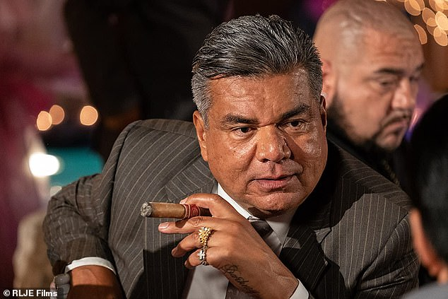 Comedian George Lopez also starred in the movie, playing David's uncle, a criminal who also owns an auto repair business