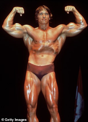 Schwarzenegger was a champion bodybuilder in the 1960s and 70s before he became the biggest action star in Hollywood