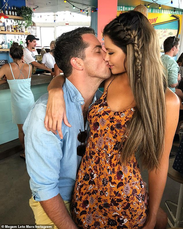 The One?Jake later told Who Magazine of his decision to leave: 'Very shortly after I hit the sand I just knew that it didn't feel right. I realised I already had the love I was looking for in my life ¿ with Megan'