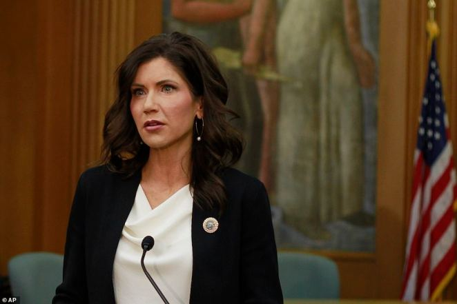 South Dakota's Republican governor Kristi Noem supported holding the rally citing Donald Trump's Mount Rushmore rally last month attended by several thousand people that didn't lead to a virus break out