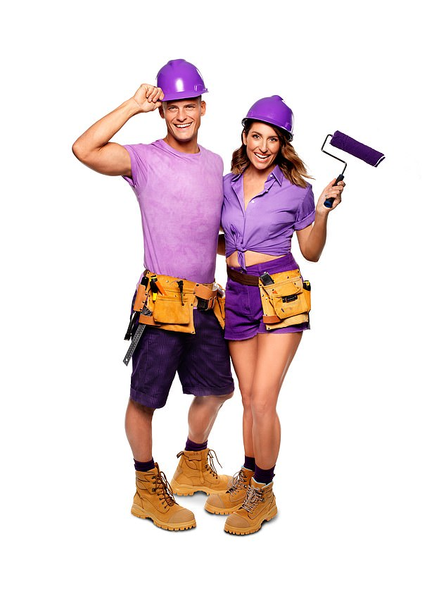 Luke, 35, and Jasmine, 36: Married with two young kids, Luke, a chippy, and Jasmine, a teacher, have plenty of renovation experience thanks to their kids