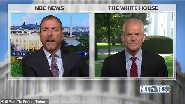 Peter Navarro, Trump's top economic adviser, told NBC News Sunday that the White House is not concerned about being sued, claiming he is confident the orders will stand up in court