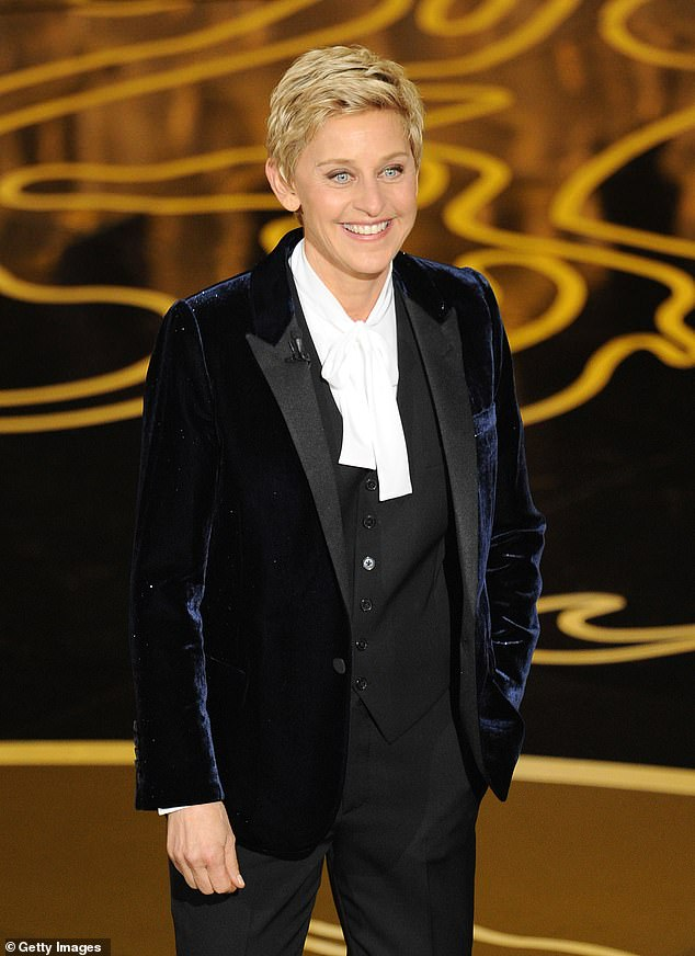Claims: This comes as multiple staffers from The Ellen DeGeneres Show stepped forward to accuse the 62-year-old host and her senior executives of perpetuating a 'toxic work environment'