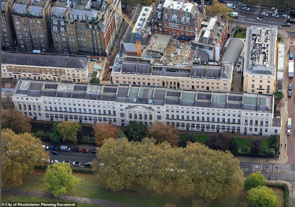 1-18 York Terrace East would become the second most expensive house sale in the UK if bought for the asking price of £185 million