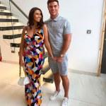Pregnant Charlotte Dawson and boyfriend Matt Sarsfield step out for restaurant launch party