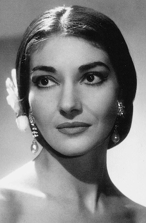 Sir Johnwelcomed Maria Callas (pictured) to her first performance at the Royal Opera House in 1952 and championed the opera singer's visits to the Covent Garden opera house in 1953, 1957 and 1958