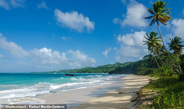 The location:According to TMZ , they 'spent a week in a fortress-like estate on a Dominican beach, as Kim and Kanye hashed out problems in their marriage'; a stock image of thebeaches of Samana, Dominican Republic