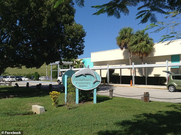 The incident took place at Gerald Adams Elementary School in Key West Florida