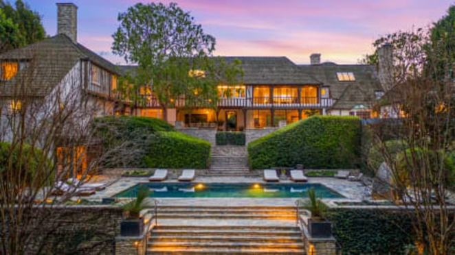 Off the market: The 12,000-square-foot Beverly Hills mansion that was once owned by Brad Pitt, 56, and Jennifer Aniston, 51, was sold recently for $32.5 million, more than double what they paid